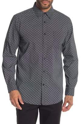 Ben Sherman Checkerboard Print Shirt