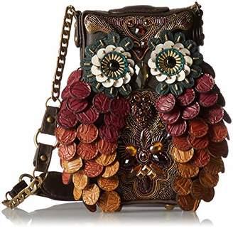 Mary Frances Wise Embellished Owl Handbag