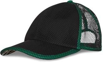 Burberry Vintage Check and Mesh Baseball Cap