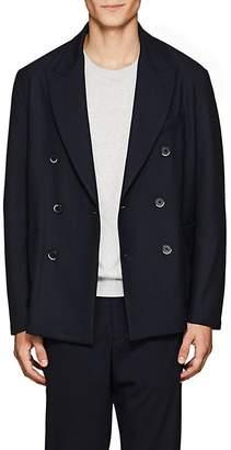 Barena Venezia Men's Plain-Weave Double-Breasted Sportcoat