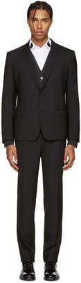 Dolce & Gabbana Black Wool Martini Suit $2,245 thestylecure.com