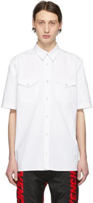 Givenchy White Denim Webbing 4G Shirt