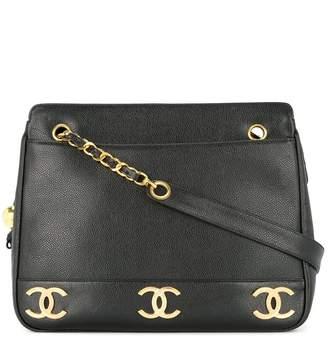 Chanel Pre-Owned 1994-1996 interlocking CCs shoulder bag