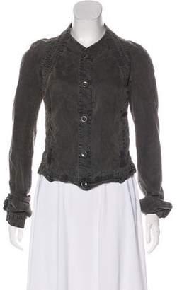 Rick Owens Lightweight Button-Up Jacket