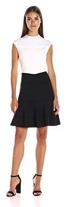Ted Baker Women's Demore Flared Skirt Detail Dress