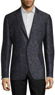Burberry Tonal Floral Sportcoat