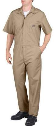 Dickies Men's Big & Tall Short Sleeve Deluxe Poplin Coverall
