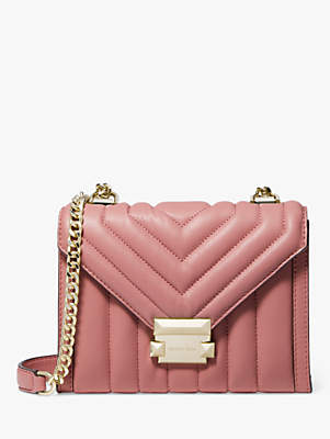 Michael Kors MICHAEL Whitney Small Quilted Leather Shoulder Bag