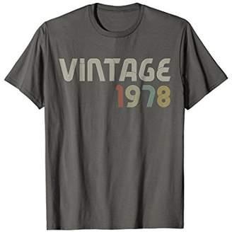 Vintage 1978 1970's Retro Colorful T-Shirt