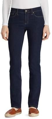 Lauren Ralph Lauren Slim Modern Curvy Jeans in Rinse
