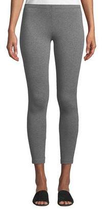 Eileen Fisher Heathered Organic Cotton Jersey Leggings, Plus Size