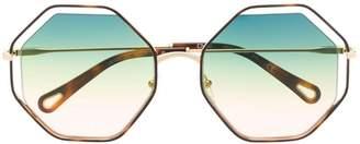 Chloé (クロエ) - Chloé Eyewear octagon sunglasses