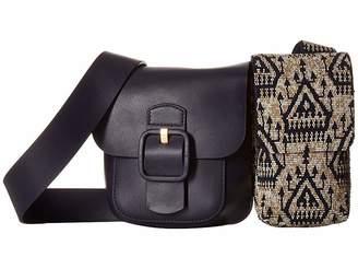 da54c4b657ea Tory Burch Sawyer Embellished Double-Pocket Shoulder Bag Shoulder Handbags