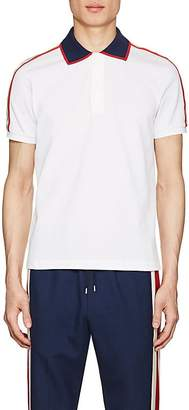 Gucci Men's Logo-Detailed Cotton Piqué Polo Shirt