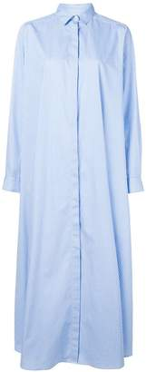 Christian Pellizzari oversized maxi shirt dress