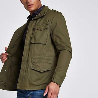 River Island Jack and Jones Premium Oscar green field jacket