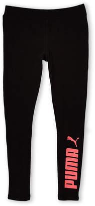 Puma Girls 7-16) Glitter Logo Sweatpants