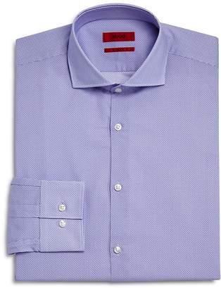 HUGO Micro Circle Slim Fit Dress Shirt