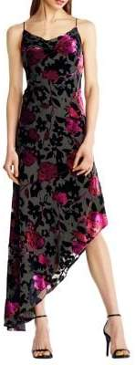 Aidan Mattox Fit-&-Flare Dress