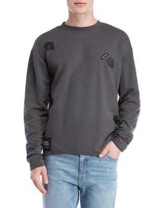 Cheap Monday Dark Grey Victory Now Sweatshirt