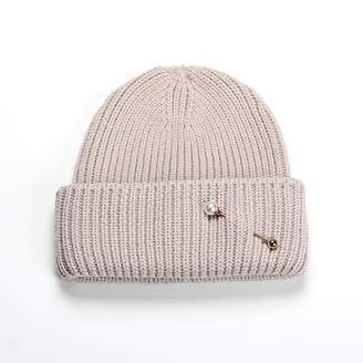 b0c3d2e85c7 Soia   Kyo Anissa Rib Knit Hat With Folded Hem - Quartz