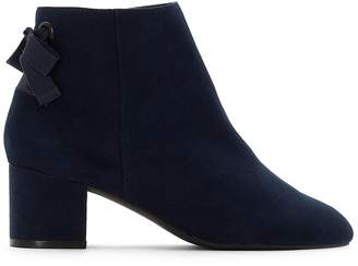 La Redoute Collections Ankle Boots with Bow