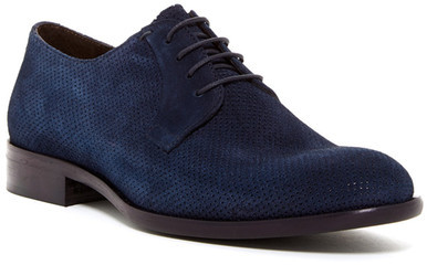 Bacco Bucci Bacco Bucci Perforated Suede Lace-Up Derby