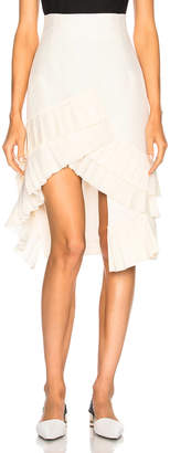 Jacquemus Ruffled Skirt