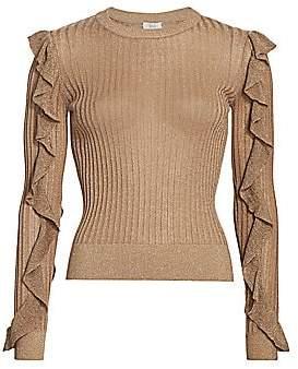 Joie Women's Beza Shimmer Knit Sweater
