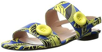 Moschino Women's Tropical Flat Dress Sandal