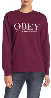 Obey Bad Luck Long Sleeve Tee