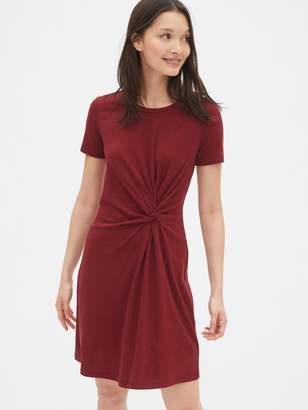 Gap Twist-Knot T-Shirt Dress