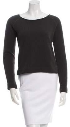 Maison Margiela Scoop Neck Long Sleeve Sweater