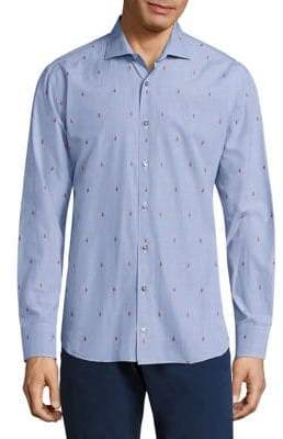 Vilebrequin Jacquard Cotton Shirt
