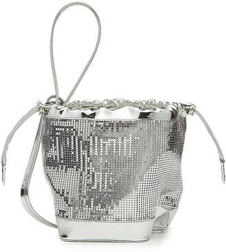 Paco Rabanne Sequin Embellished PR Pouch Tote
