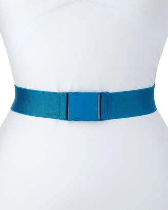 No.21 No. 21 Ribbon Clip-Buckle Logo Belt