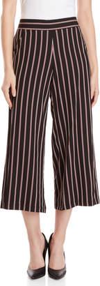 Max Studio Stripe Wide Leg Pants
