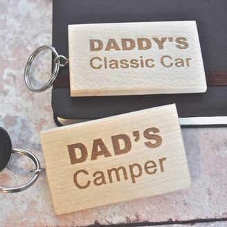 Sweet Pea Design Personalised Wooden Car Keyring