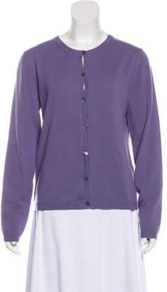 Valentino Cashmere Button-Up Cardigan