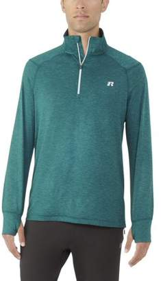 Russell Exclusive Big Men's Core Quarter Zip Pullover