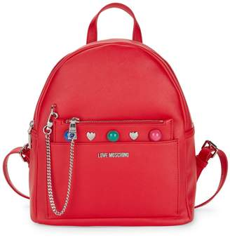 Love Moschino Mixed Stud Backpack & Pouch