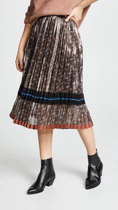 Coach 1941 Daisy Pleated Skirt