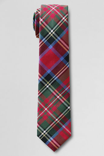 Lands' End Boys' Woven Holiday Necktie
