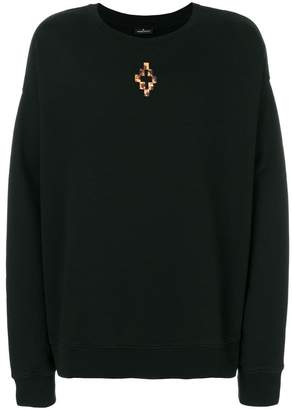 Marcelo Burlon County of Milan Fire Cross sweatshirt