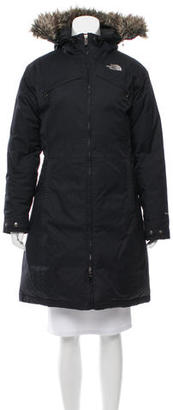 The North Face Down-FIlled Puffer Coat $195 thestylecure.com