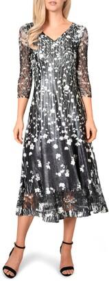 Komarov Charmeuse A-Line Dress