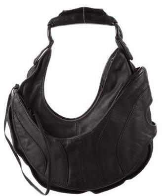 CNC Costume National Leather Hobo Bag