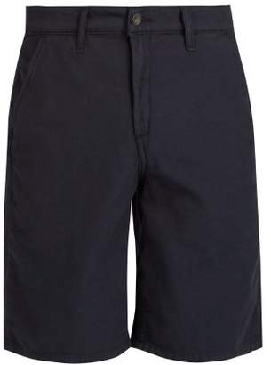 Rag & Bone Straight Leg Cotton Chino Shorts - Mens - Navy