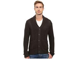 7 For All Mankind Cable Shawl Cardigan Men's Sweater