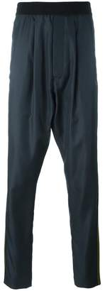 Haider Ackermann drop-crotch track pants
